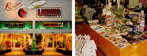 Roswell Landing Bookstore and Gift Shop