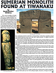 Sumerians at Tiwanaku Article