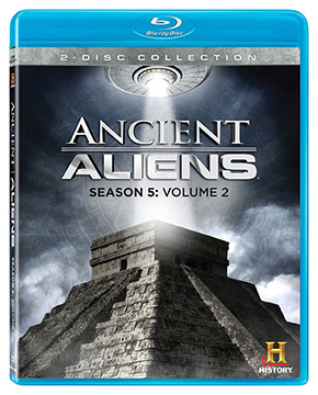 ANCIENT ALIENS SEASON 5, VOL. 2 BLUE RAY