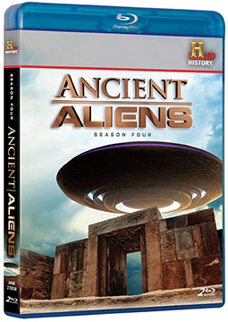 ANCIENT ALIENS SEASON 4 BLUE RAY