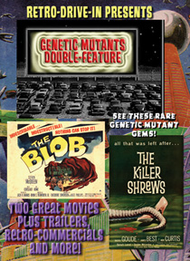 RETRO DRIVE-IN GENETIC MUTANTS DOUBLE-FEATURE