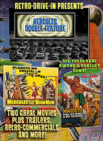 RETRO DRIVE-IN HERCULES DOUBLE-FEATURE