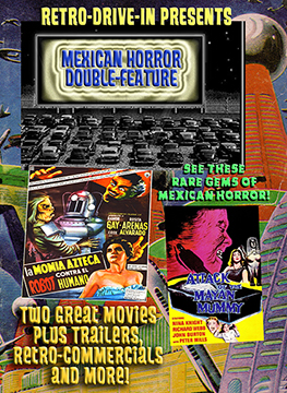 RETRO DRIVE-IN MEXICAN HORROR DOUBLE FEATURE