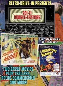 RETRO DRIVE-IN SCI-FI DOUBLE-FEATURE