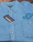 WEX DARK BLUE DENIM SHIRT