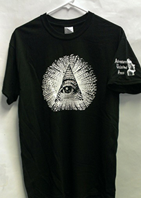 AU PYRAMID-EYE T-SHIRT