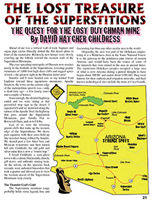 Lost Treasure of the Superstitions Article