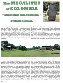 The Megaliths of Columbia Article