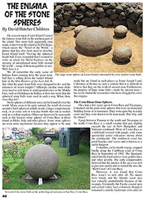 Enigma of the Stone Spheres Article