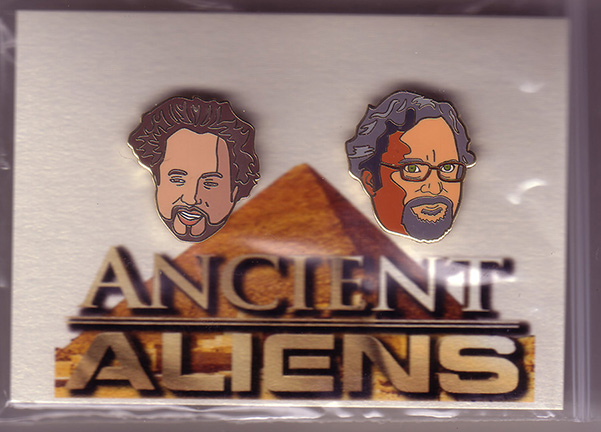 ANCIENT ALIENS ENAMEL PIN SET