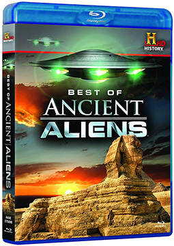 ANCIENT ALIENS BEST OF Blue-Ray DVD