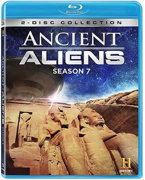 ANCIENT ALIENS SEASON 7 Blue-Ray DVD