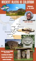 ANCIENT ALIENS IN COLOMBIA TOUR Deposit