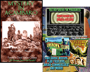 CRYPTOZOOLOGY BOOK AND DVD SET