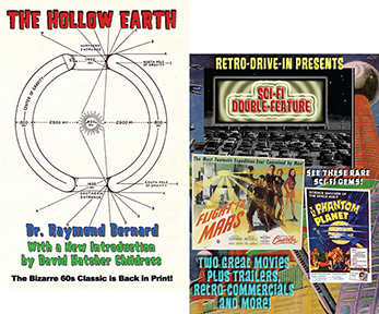 HOLLOW PLANETS BOOK AND DVD SET