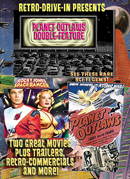 RETRO DRIVE-IN  PLANET OUTLAWS Double-Feature