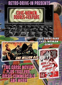 RETRO DRIVE-IN CAVE WOMEN DOUBLE-FEATURE