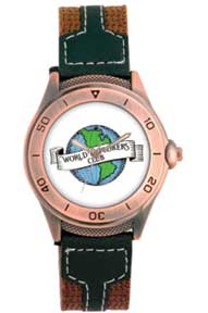 World Explorers Watch--Mens