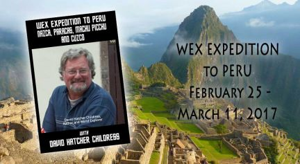 WEX Expedition to Peru 2017 Deposit